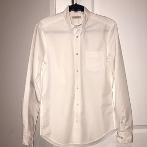 Women Burberry collared long sleeve shirt